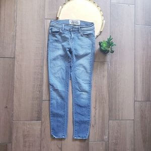 Free People Skinny Ankle Blue Jeans stretch 25